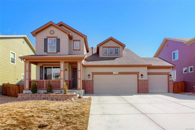 3508 Desert Ridge Circle, Castle Rock, CO 80108 (#3760047) :: Compass Colorado Realty
