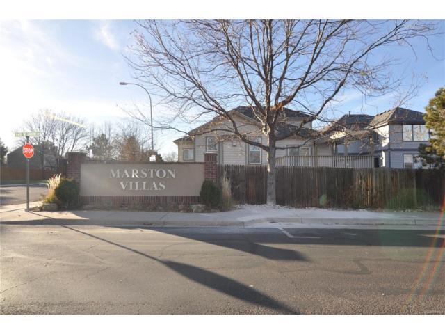 8481 W Union Avenue 4-201, Littleton, CO 80123 (MLS #3762581) :: 8z Real Estate