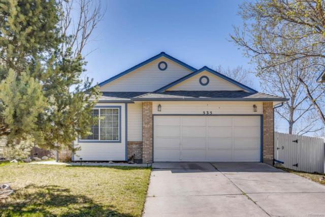535 Howe Street, Castle Rock, CO 80104 (#3764143) :: The Peak Properties Group