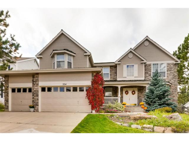 334 Ingleton Place, Castle Pines, CO 80108 (#3765207) :: The Sold By Simmons Team