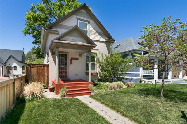 1153 S Emerson Street, Denver, CO 80210 (#3765935) :: The Pete Cook Home Group