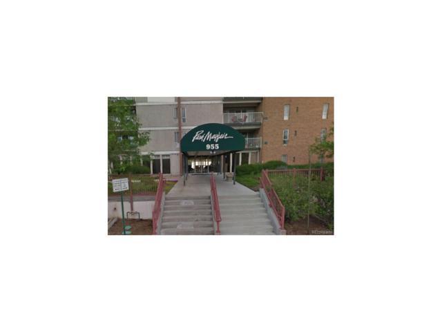 955 Eudora Street 801E, Denver, CO 80220 (#3766004) :: Wisdom Real Estate