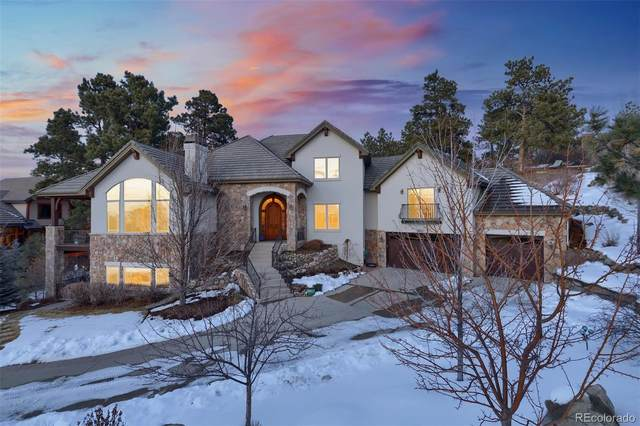 4980 Silver Pine Drive, Castle Rock, CO 80108 (#3766823) :: The Griffith Home Team