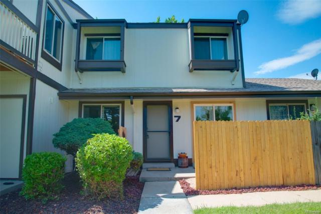 8796 Chase Drive #7, Arvada, CO 80003 (#3768730) :: The Heyl Group at Keller Williams