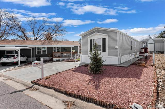 2001 W 92nd Avenue #724, Federal Heights, CO 80260 (#3772103) :: Mile High Luxury Real Estate