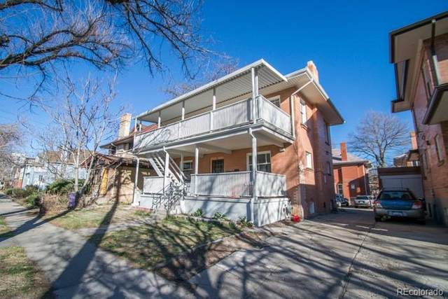 3417 E 14th Avenue, Denver, CO 80206 (#3773463) :: The Dixon Group