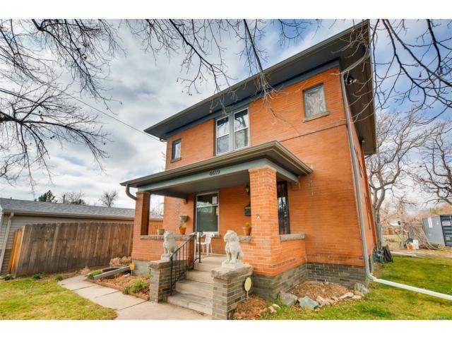 4619 Tejon Street, Denver, CO 80211 (#3773900) :: The Pete Cook Home Group