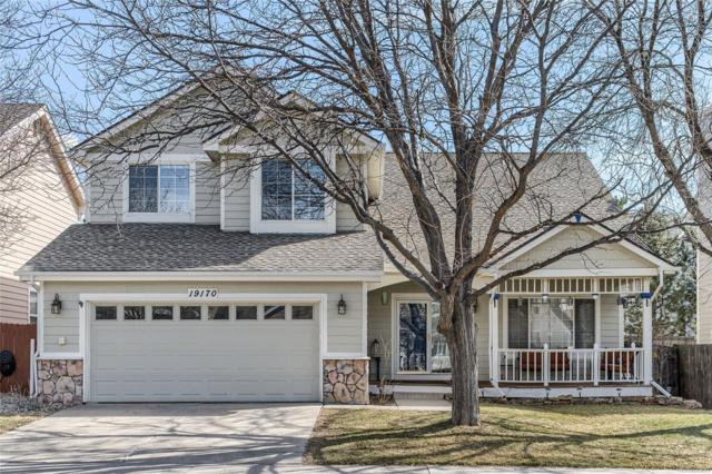 19170 E Hickock Drive, Parker, CO 80134 (#3774329) :: The Peak Properties Group