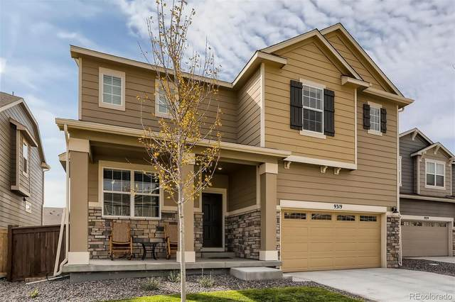 9319 Rifle Street, Commerce City, CO 80022 (#3774976) :: The DeGrood Team