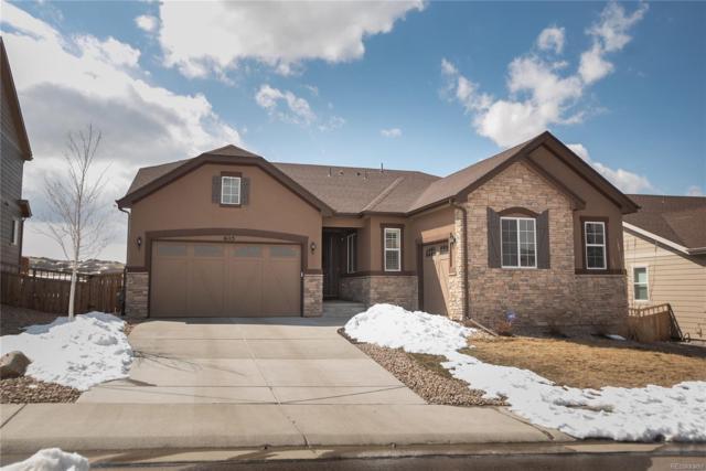 6115 Hoofbeat Place, Castle Rock, CO 80108 (MLS #3782267) :: Kittle Real Estate