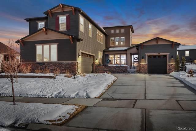14678 Saddlebred Avenue, Parker, CO 80134 (#3784735) :: HomeSmart Realty Group