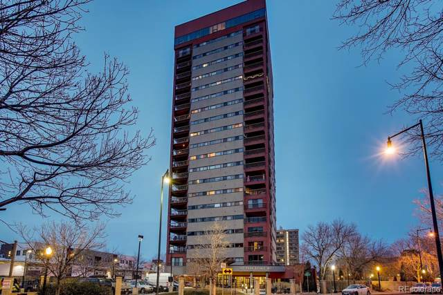 100 Park Avenue #2102, Denver, CO 80205 (MLS #3787296) :: 8z Real Estate