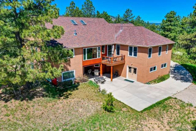 12530 Greenland Acres Road, Larkspur, CO 80118 (#3788630) :: Mile High Luxury Real Estate