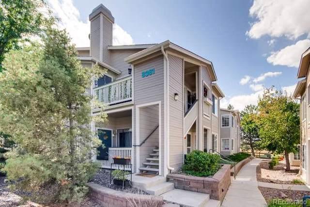 8381 Pebble Creek Way #101, Highlands Ranch, CO 80126 (MLS #3789083) :: 8z Real Estate