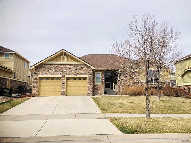 405 N Coolidge Way, Aurora, CO 80018 (#3790334) :: The Peak Properties Group