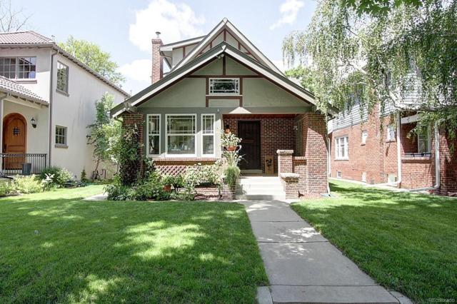 689 S Gilpin Street, Denver, CO 80209 (#3794251) :: The Griffith Home Team