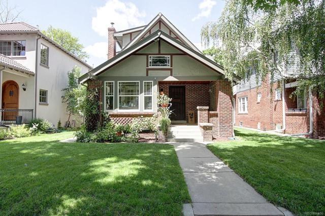689 S Gilpin Street, Denver, CO 80209 (#3794251) :: House Hunters Colorado