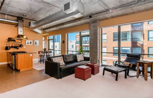 2100 16th Street #504, Denver, CO 80202 (#3794518) :: 5281 Exclusive Homes Realty