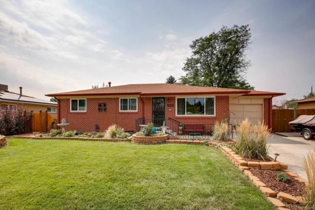 3116 W Saratoga Avenue, Englewood, CO 80110 (#3795437) :: The Griffith Home Team