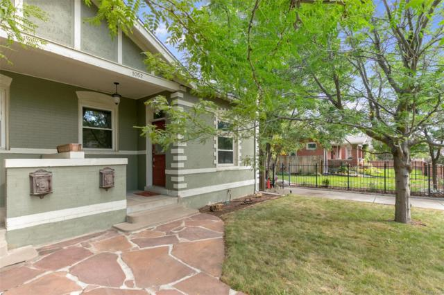 1052 S Washington Street, Denver, CO 80209 (#3796378) :: Wisdom Real Estate