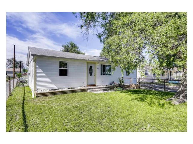 7035 E 74th Place, Commerce City, CO 80022 (#3798477) :: The Peak Properties Group