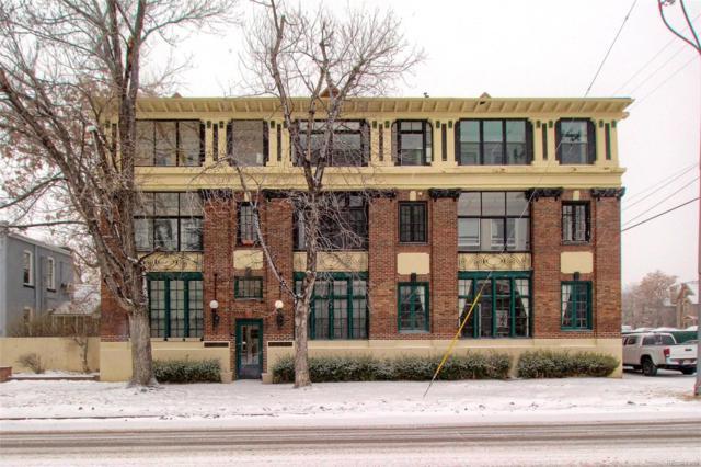 726 E 16th Avenue #304, Denver, CO 80203 (#3801263) :: The Dixon Group