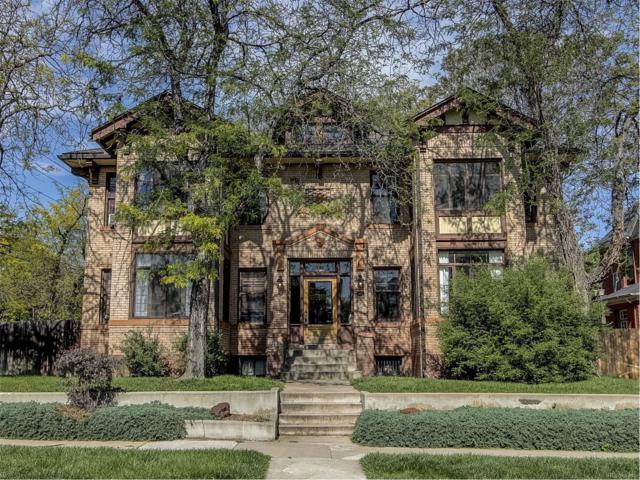 1401 Fillmore Street #1, Denver, CO 80206 (MLS #3808140) :: 8z Real Estate