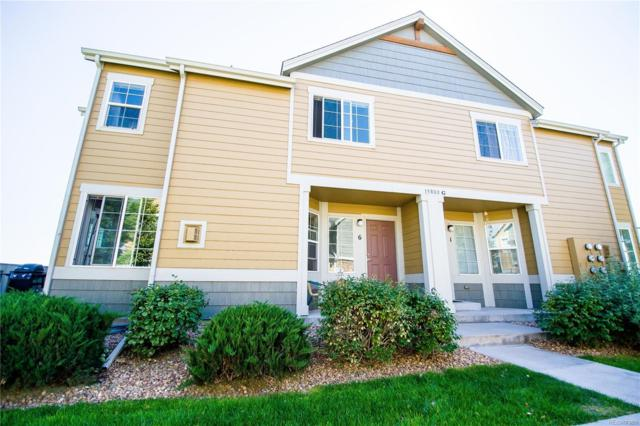 15800 E 121st Avenue G6, Commerce City, CO 80603 (#3810771) :: Sellstate Realty Pros