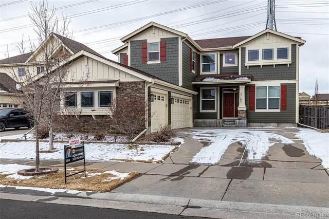 17192 E Trailmaster Drive, Parker, CO 80134 (MLS #3811285) :: 8z Real Estate