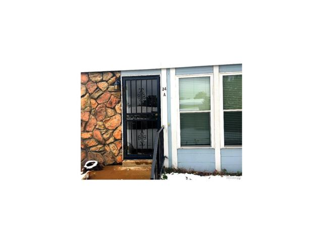 9901 E Evans Avenue 34A, Aurora, CO 80247 (#3811859) :: The Sold By Simmons Team