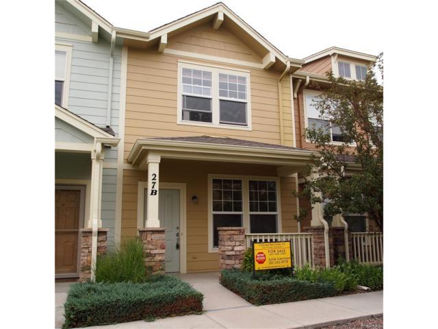 15612 E 96th Way 27B, Commerce City, CO 80022 (MLS #3814319) :: 8z Real Estate