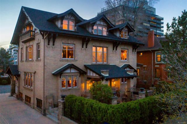 735 Clarkson Street, Denver, CO 80218 (#3815423) :: Wisdom Real Estate