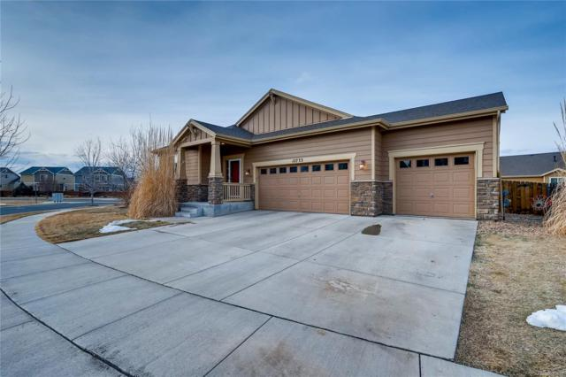12733 E 106th Avenue, Commerce City, CO 80022 (#3815558) :: The DeGrood Team