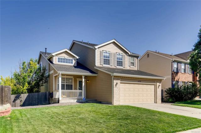 1172 N Calhan Avenue, Castle Rock, CO 80104 (MLS #3816008) :: 8z Real Estate