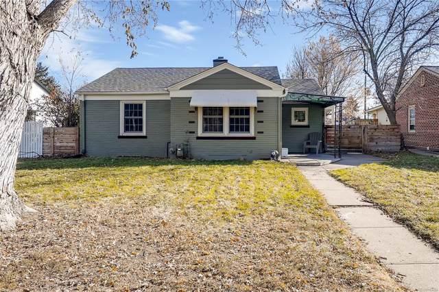 4480 Elm Court, Denver, CO 80211 (#3816235) :: HomePopper