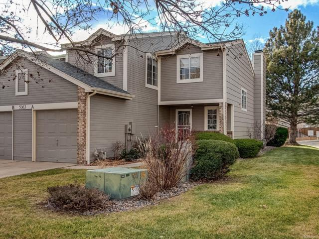 5063 S Elkhart Way A, Aurora, CO 80015 (#3820034) :: Sellstate Realty Pros