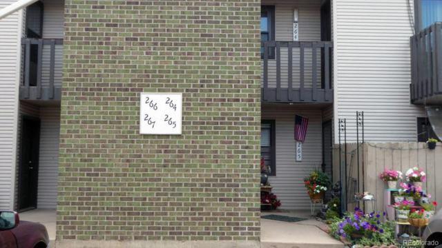 3550 S Harlan Street #266, Denver, CO 80235 (#3824123) :: The Healey Group