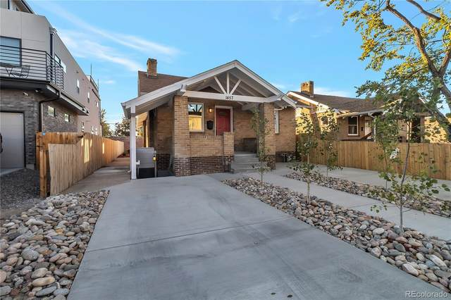 1457 Ivy Street, Denver, CO 80220 (#3825989) :: Finch & Gable Real Estate Co.