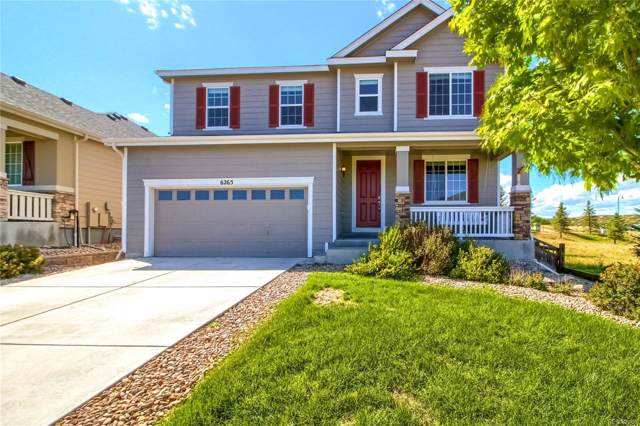 6265 Blue Water Circle, Castle Rock, CO 80108 (#3834112) :: The DeGrood Team