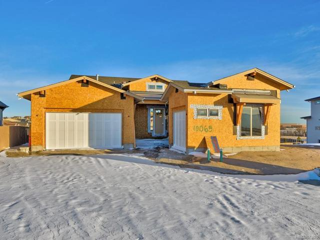 10065 Buck Gulch Court, Colorado Springs, CO 80924 (#3834475) :: The City and Mountains Group