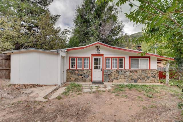 21938 Miller Lane, Idledale, CO 80453 (#3836232) :: 5281 Exclusive Homes Realty