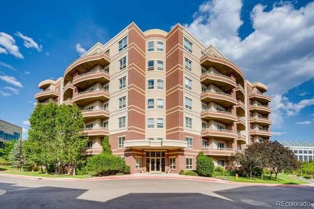 4875 S Monaco Street #307, Denver, CO 80237 (#3837199) :: The HomeSmiths Team - Keller Williams