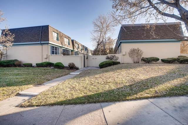 9370 E Girard Avenue #11, Denver, CO 80231 (#3837712) :: HomeSmart Realty Group
