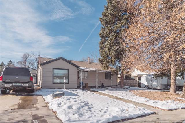 1037 Vaughn Street, Aurora, CO 80011 (#3839228) :: The DeGrood Team