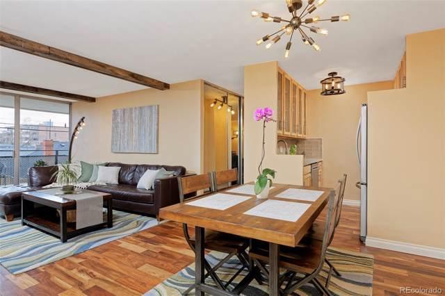 1200 Vine Street 4A, Denver, CO 80206 (#3840660) :: Wisdom Real Estate