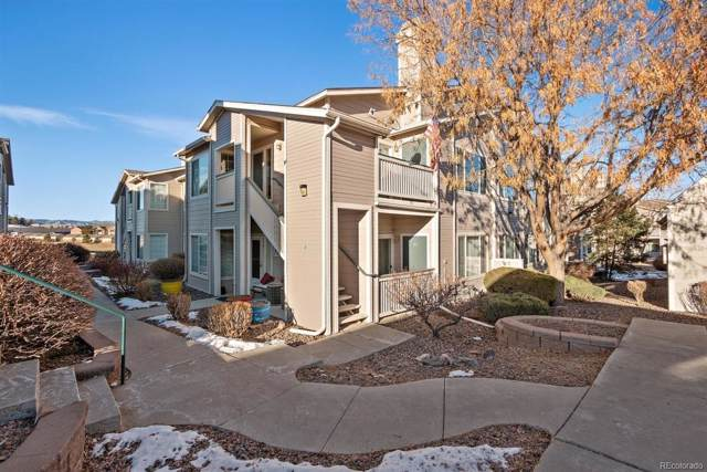 8381 Pebble Creek Way #203, Highlands Ranch, CO 80126 (#3841249) :: The HomeSmiths Team - Keller Williams