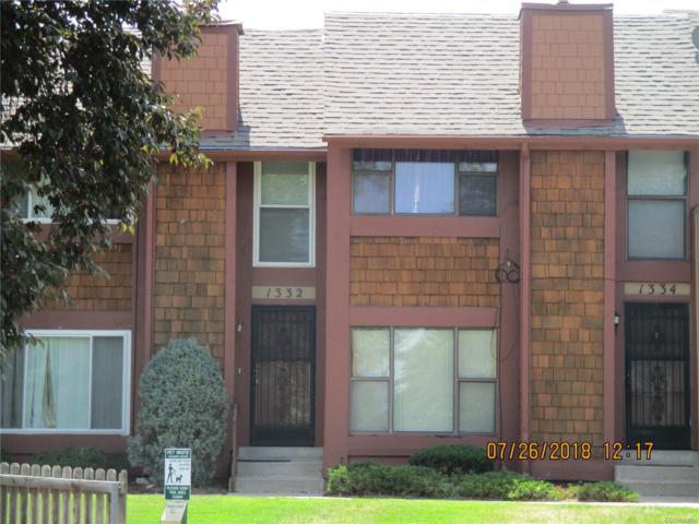 1332 S Dillon Way, Aurora, CO 80012 (#3845613) :: Wisdom Real Estate