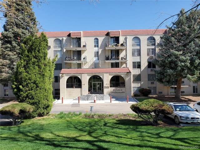 7801 W 35th Avenue #307, Wheat Ridge, CO 80033 (#3848481) :: The DeGrood Team