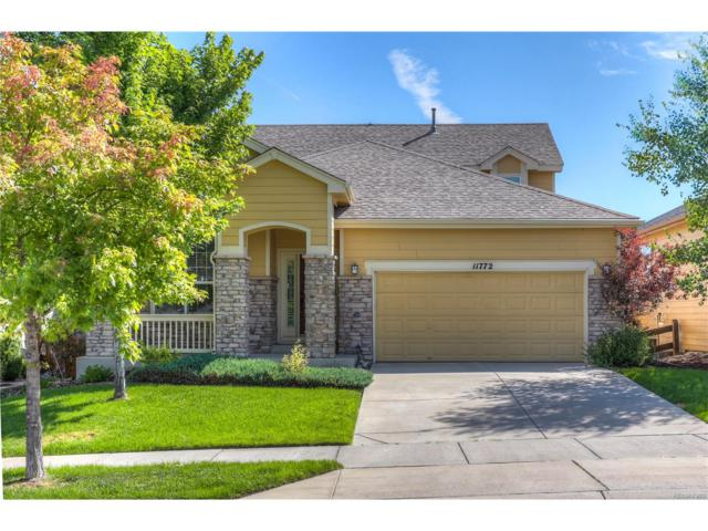 11772 Mill Valley Street, Parker, CO 80138 (MLS #3849838) :: 8z Real Estate