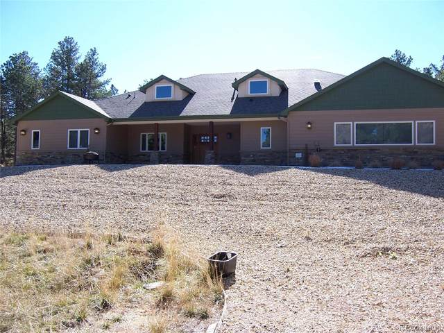 16305 Meridian Road, Elbert, CO 80106 (#3850328) :: iHomes Colorado